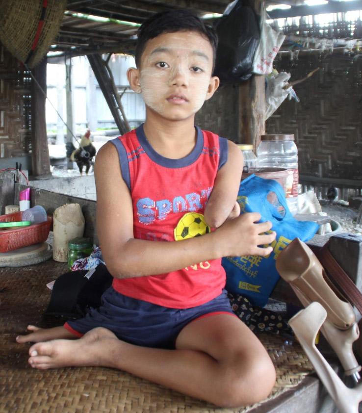 A child supported by DDI. (Photo: DDI)